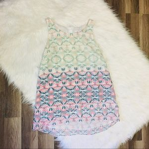Cabi - Printed tank blouse size small